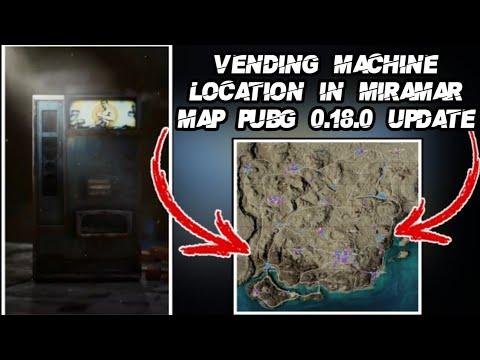 Where To Find Vending Machine in PUBG Mobile?