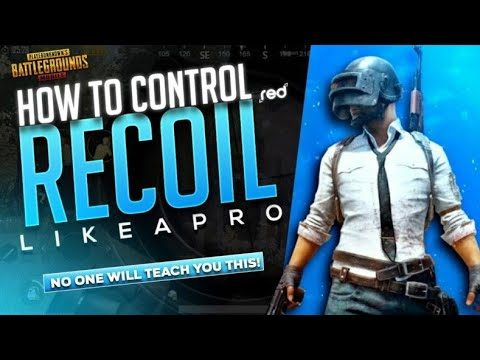 How to control recoil in pubg mobile