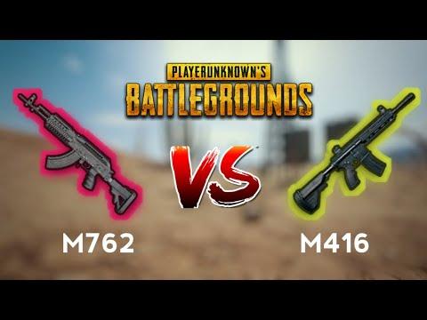 Comparison Between M416 vs M762