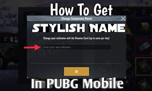 Get Stylish Name
