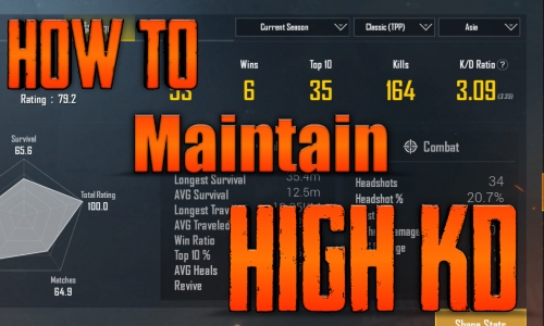 How to Maintain High KD