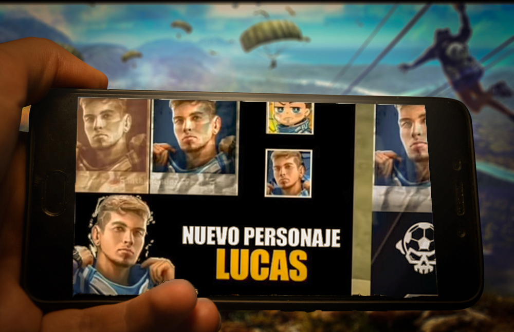 Free Fire New Character Lucas