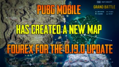 Photo of PUBG Mobile has Created a New Map Fourex for the 0.19.0 update