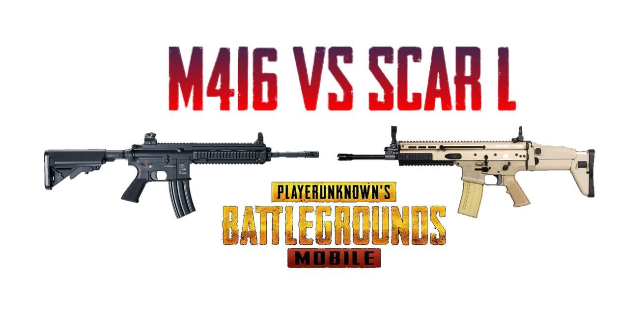 Scar-L VS M416 : Which is the best in PUBG Mobile?