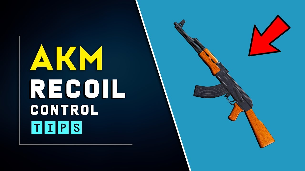 How To Control Recoil of AKM in PUBG Mobile