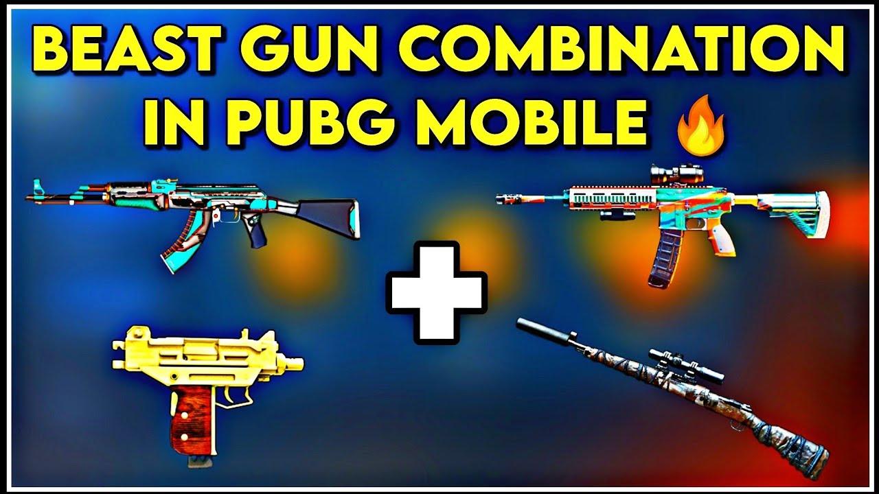 Best Gun Combinations For Close Range Fight in PUBG Mobile