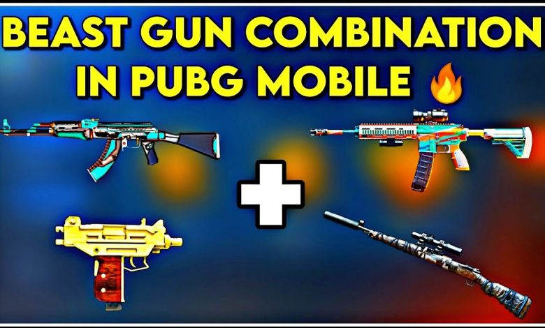 Best Gun Combinations For Close Range Fight in PUBG Mobile