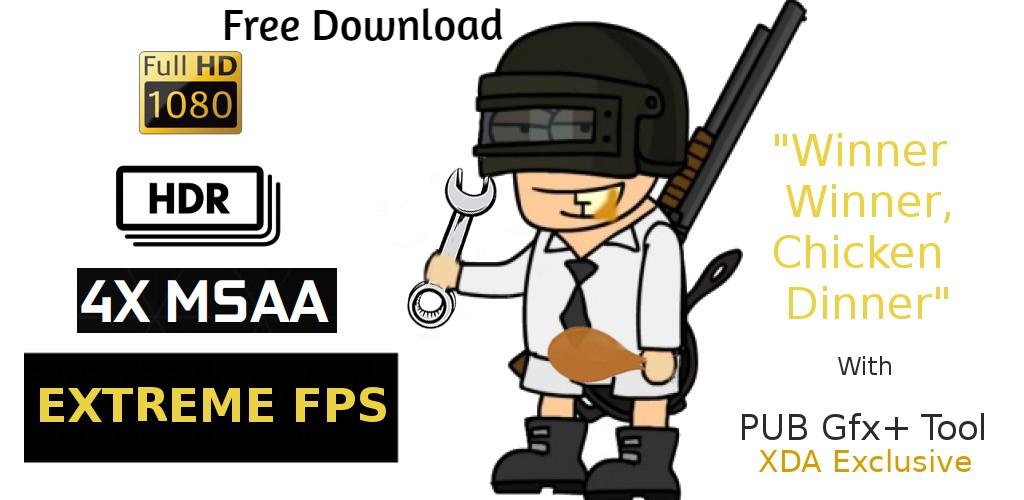 PUBG GFX+ Tool Pro Download