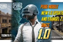 Photo of PUBG Mobile New 1.0 Update And Erangel 2.0 Hints