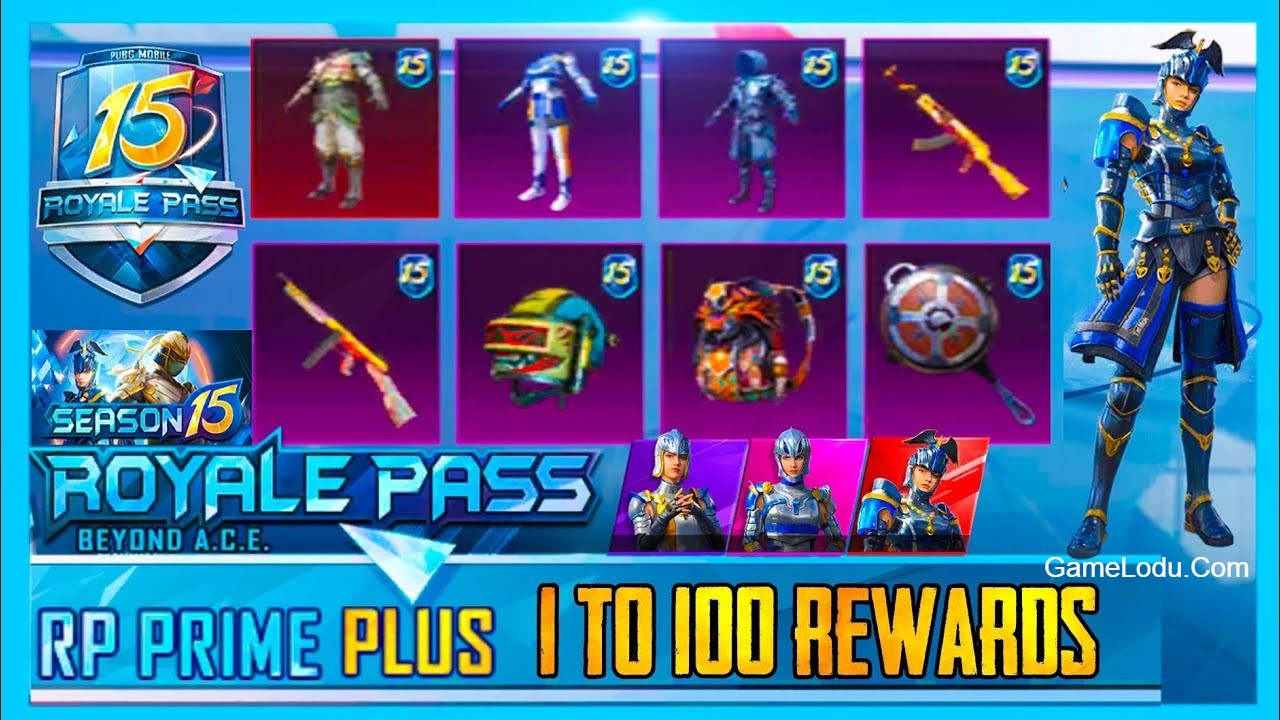 PUBG Mobile Season 15 Royale Pass leaks