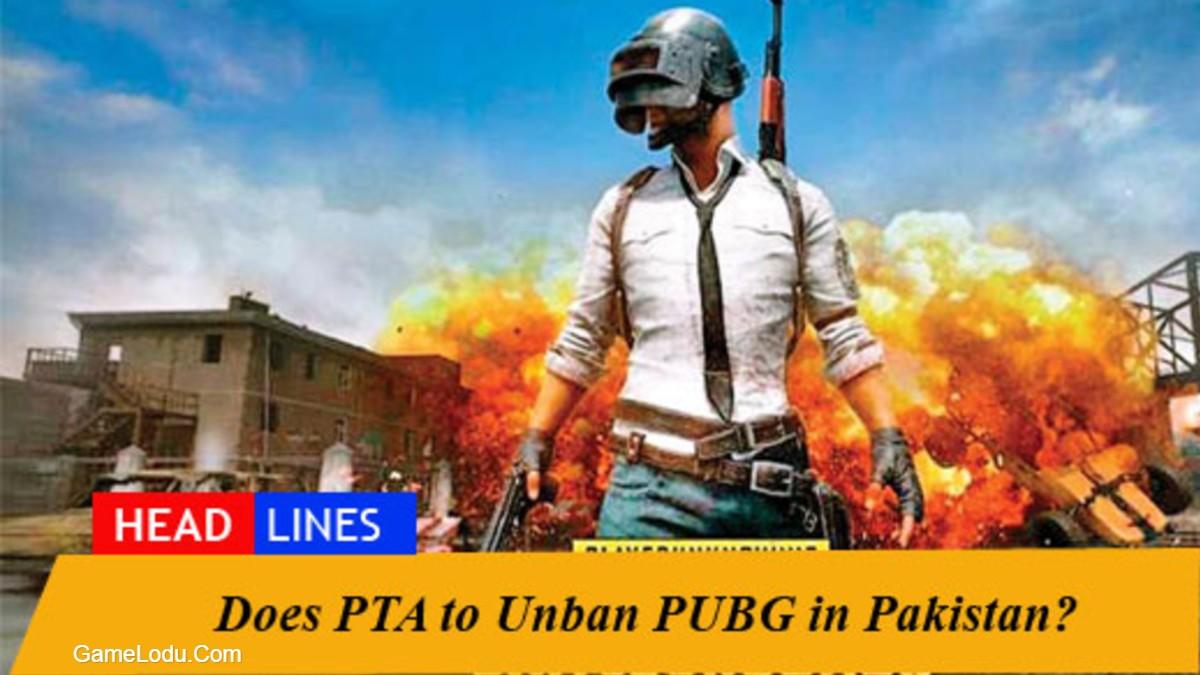 PUBG Unbanned Pakistan