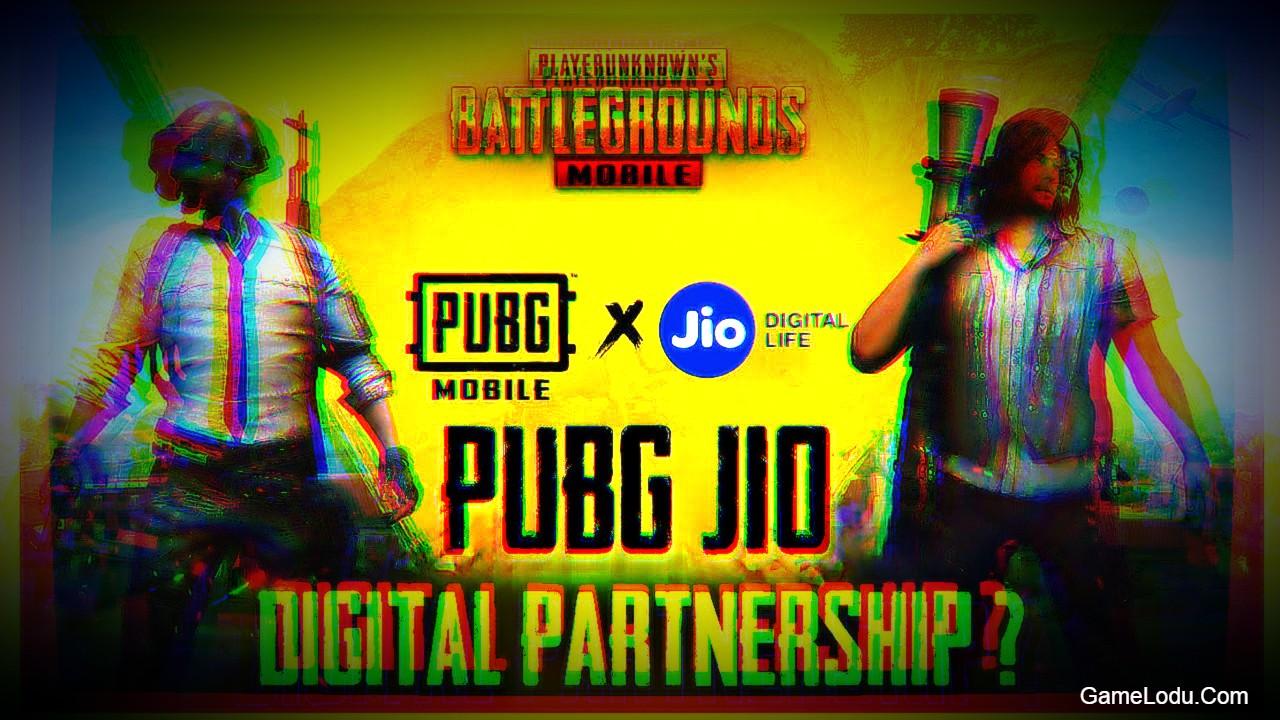 PUBG X Jio Digital Partnership
