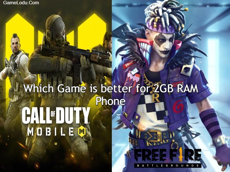 COD Mobile VS Free Fire