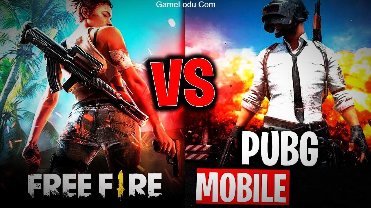 Comparison of PUBG Mobile VS Free Fire