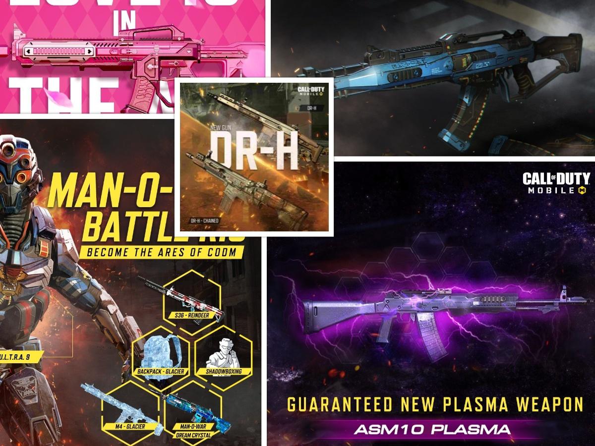 Top 5 Best AR Guns in COD Mobile 2021