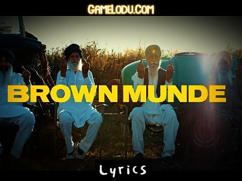 Brown Munde Lyrics Mp3 Download