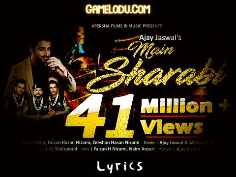 Main Sharabi Lyrics Mp3 Song Download