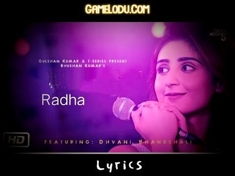 Radha Dhvani Bhanushali Mp3 Song