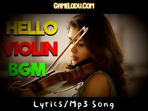 Hello Movie BGM Violin Ringtone Download