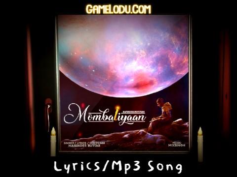Mombatiyaan Jala Ke Rakhni Aan Mp3 Song