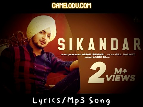 Sikander Amar Sehmbi Mp3 Song