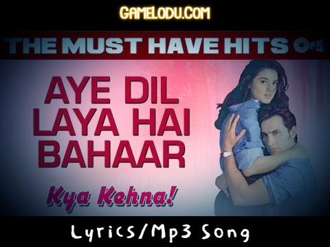 Aye Dil Laya Hai Bahar Mp3 Song