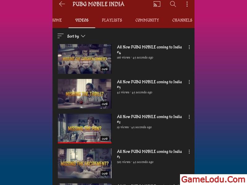 Four trailers released via PUBG Mobile India Teasing Return