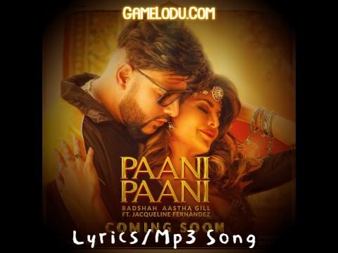 Paani Paani By Badshah New 2021 Mp3 Song