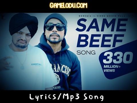 Same Beef By Sidhu Moose Wala Mp3 Song