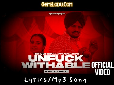 Unfuckwithable Sidhu Moose Wala New 2021 Mp3 Song