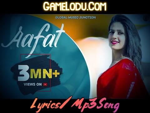 Aafat By Renuka Panwar Mp3 Song