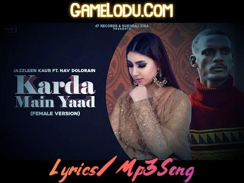 Karda Mai Yaad By Jazzleen Kaur 2021 New Mp3 Song