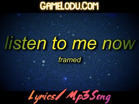 Listen To Me Now Song