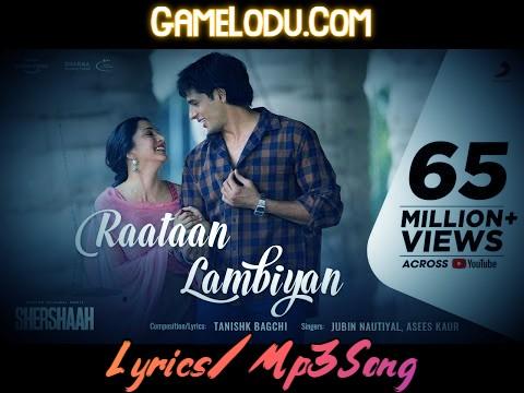 Raatan Lambiyan Mp3 Song